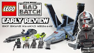LEGO Star Wars Bad Batch Attack Shuttle (75314) - 2021 Set Review