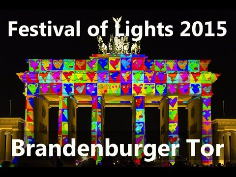 Festival of Lights Berlin - Brandenburger Tor