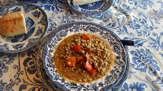 Homemade Lentil Soup Recipe By Mommy Is A Chef Episode 67