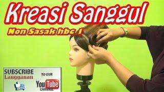 Sanggul Non Sasak HBC 1  #Tutorial HairDo #Nurul LT Yuniart