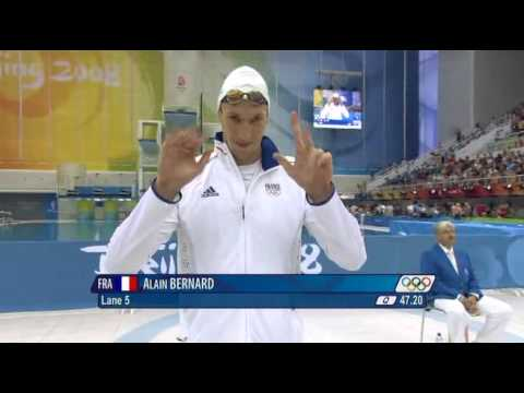 (full) Beijing Swimming Mens 100m Freestyle Final