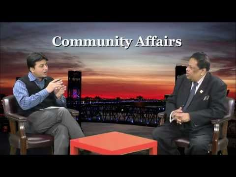 Abidur Rahim with Paul Khan in Time TV Community Affairs