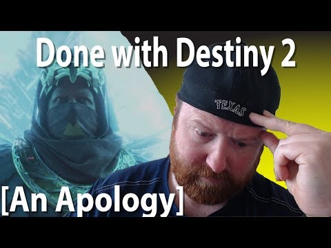 Done With Destiny 2 an Open Letter to Bungie and Activision