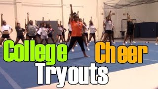 MSU Cheer Tryouts 2017-2018
