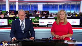 Hayley McQueen - Leather Skirt (Sky Sports News - 16/08/2017_