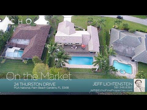 On The Market: 24 Thurston Drive, Palm Beach Gardens, FL 33418