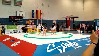 Финал Европы по сумо 2016