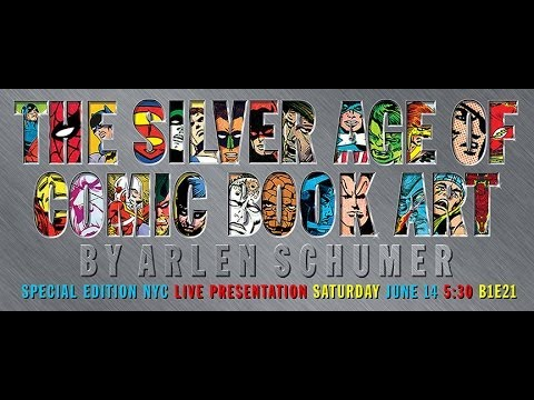 """""""The Silver Age of Comics"""" lecture at Special Edition NYC"""