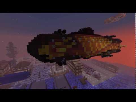 Phoenix Fast Battleship BaccaHunt 2017 - Live combat on Survival Server