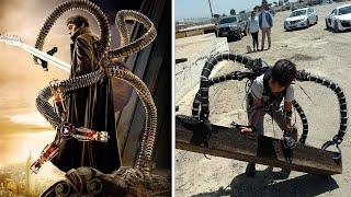 Unglaublich! Ein junger Millionär baute den Exoanzug von Doktor Oktopus!