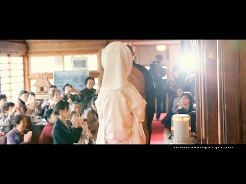 The Buddhist Wedding at Kannonji-Temple in Niigata,JAPAN