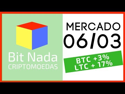 Mercado de Cripto! 06/03 Bitcoin e LTC to the moon? / Starbucks e Bitcoin