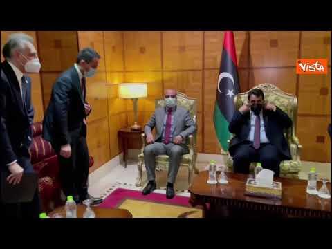 Di Maio In Libia Incontra Il Nuovo Premier Abdulhamid Dabaiba E Il Presidente Del Consiglio Libico