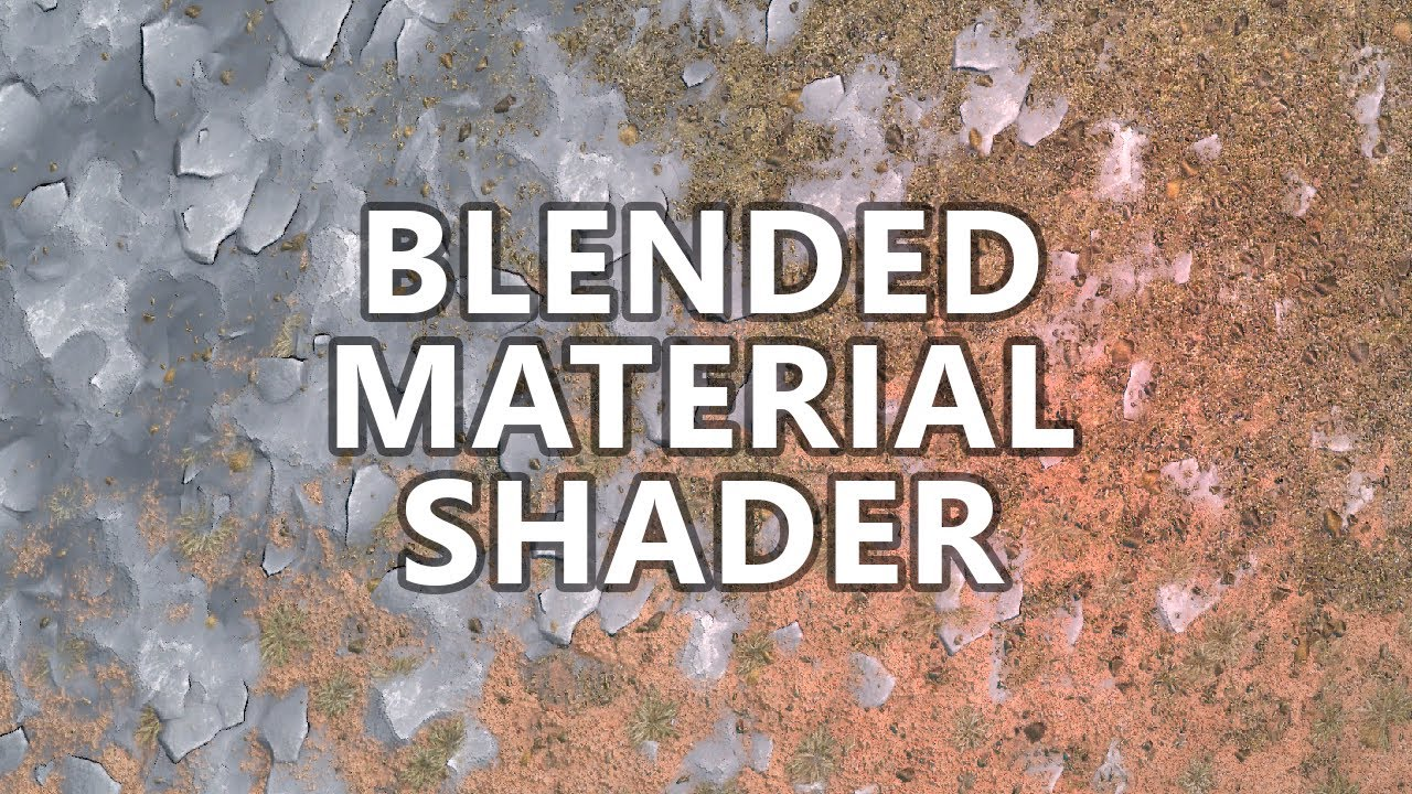 Lets Make a Blended Material Shader - Voxel Terrain - Part 12