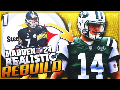 Trading for Sam Darnold | Realistic Rebuild of the Pittsburgh Steelers Ep 1 | Madden 21