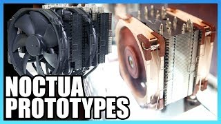Noctua Prototype Fans and Coolers | Computex 2018