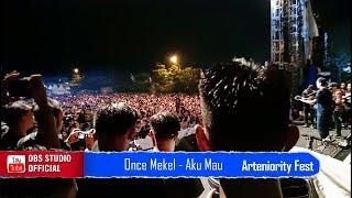 Aku Mau Cintai Kekuranganmu - Once Mekel Live Pensi Smansa Makassar | Arteniority Fest 2020 [ HD ]