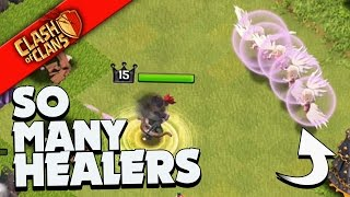 "Clash of Clans: ""MANY HEALERS... MORE LOOT!"" WE CRUSH THE SAME BASE TWICE?"
