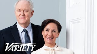 'Hillary & Clinton' Stars Laurie Metcalf & John Lithgow On Portraying The Clintons