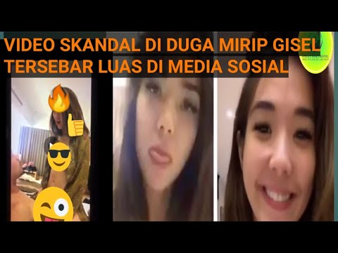 VIDEO SKANDAL MIRIP GISEL BERSAMA PACARNYA TERSEBAR LUAS VIRAL