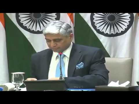 Press Briefing by Spokesperson, Ministry of External Affairs, Govt. of India