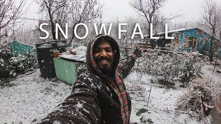 Snowfall in Manali - My First Ever !!