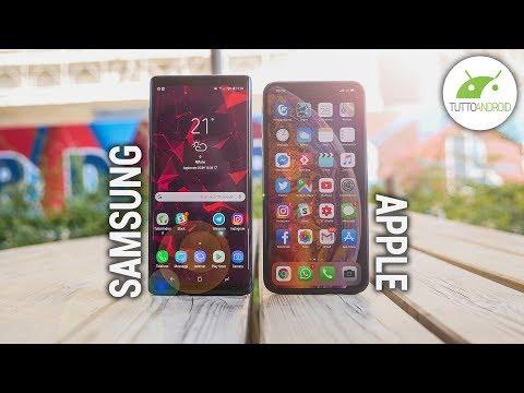 iPhone XS Max vs Samsung Note 9: UNA SCELTA NON SCONTATA | ITA | TuttoAndroid