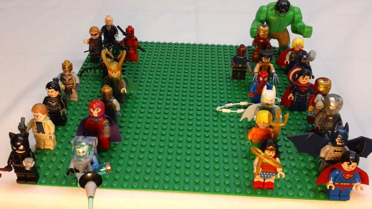 6 Malvorlagen Lego Superheroes: LEGO Super Heroes Minifigure Collection