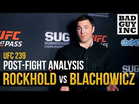 Luke Rockhold is so good, but hands up and chin down still applies..