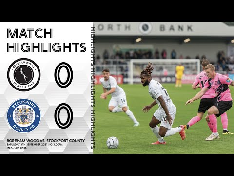 Boreham Wood Stockport Goals And Highlights