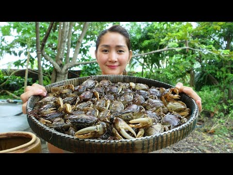 Yummy Rice Crab Pounding With Ferroniella Lucida Recipe – Rice Crab Pounding – Cooking With Sros