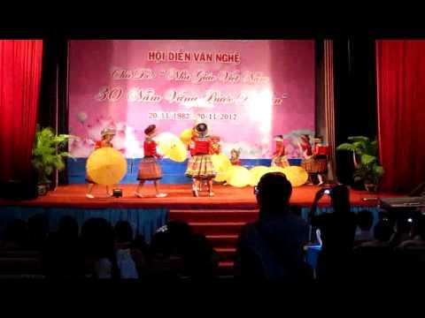 MN 14 Bình thạnh - múa cô giáo về bản
