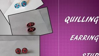 Quilling Earring DIY