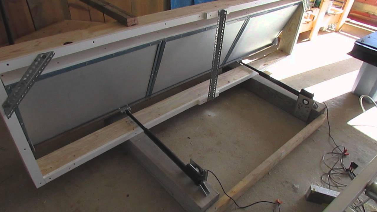 Linear Actuators Operating Vents For Solar Heated