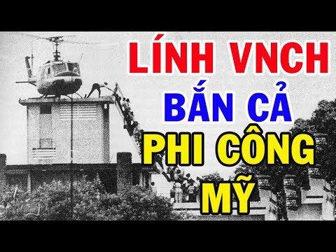 Vén Màn Cuộc Tháo Chạy Của Người Mỹ Và Tướng Lĩnh VNCH Rời Khỏi Sài Gòn Năm 75