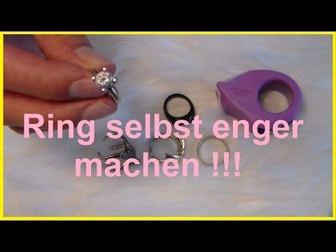 Ring selbst enger machen Ring selber kleiner machen verkleinern 2. Tipp