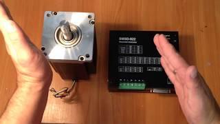 видео Контроллер шаговых двигателей SMSD-4.2 с коммуникационными интерфейсами RS-232 и RS-485