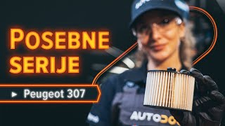 Kako zamenjati filter goriva na PEUGEOT 307 SW [VODIČ AUTODOC]
