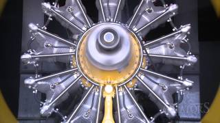 Aviators 4 Snippet: Radial engine in Test Cell