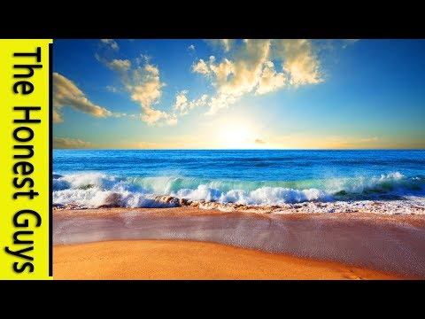 Relaxing Music With Nature Sounds: Ocean. Deep Relaxation. Study. Zen