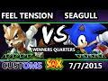 S X 105 Customs Ns Seagull Sonic Vs Feel Tension Fox SSB4 WQ Smash Wii U Smash 4 mp3