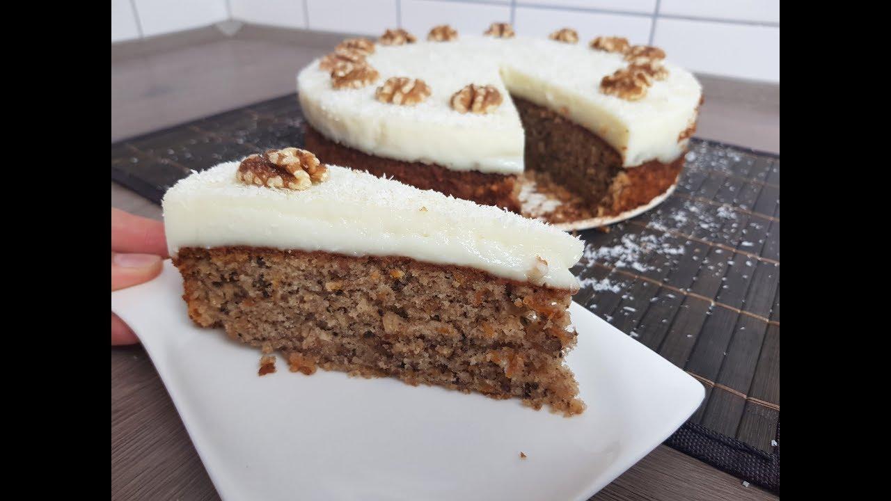 Bester Karotten Kuchen Leicht Und Sehr Lecker P S Backparadies