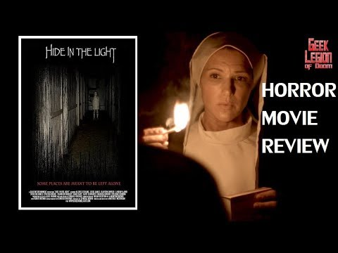 HIDE IN THE LIGHT ( 2018 Eric Roberts ) Haunted House Horror Movie Review