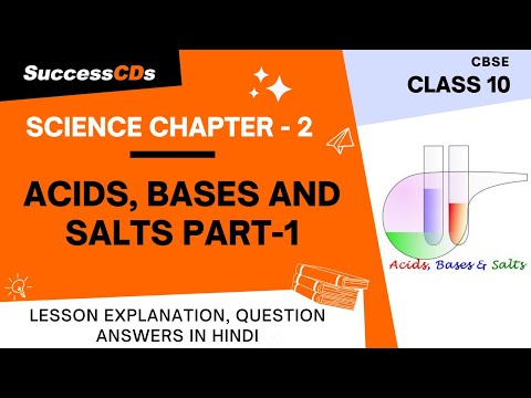 Acid Bases and Salts Class 10 Chapter 2 Part 1 of 2 - Explanation in