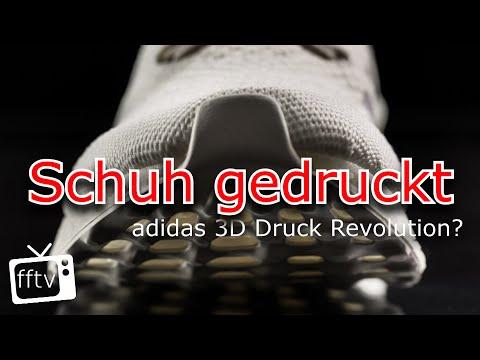Schuh gedruckt - adidas 3D Druck Revolution? Feed Flash LIVE