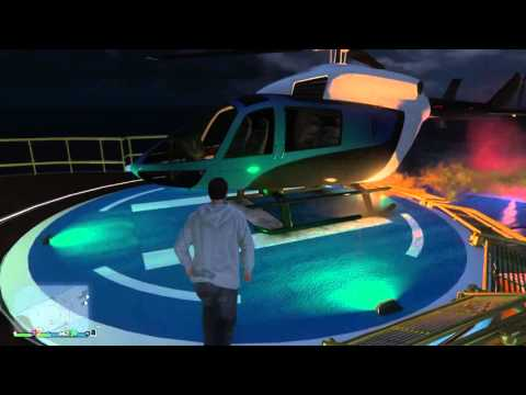 Riding in a Limo then heading toward a Luxury Yacht - GTA Online (PS4)