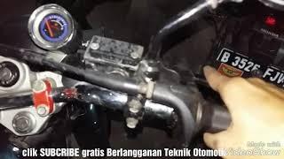 Rx king modif spidometer kecil dan kabel gas spontan