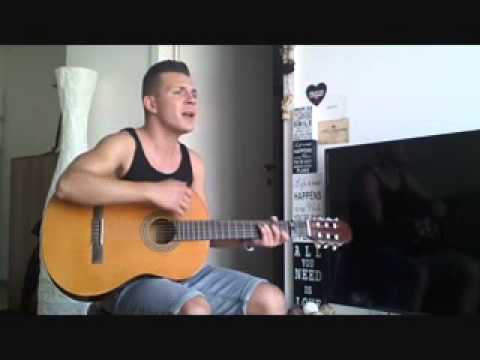 Sia Chandelier guitar male cover with vocals - YouTube