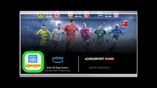 Fußball-Bundesliga live im Eurosport Player bei Amazon streamen