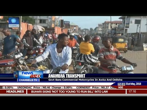 Anambra Govt Bans Commercial Motorcycles In Akwa And Onitsha